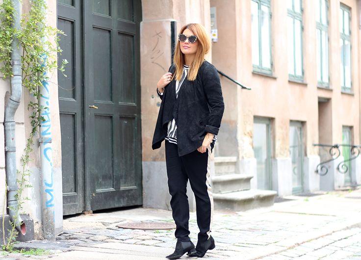 Lily wearing Rützou Aw13 jacket and pants.