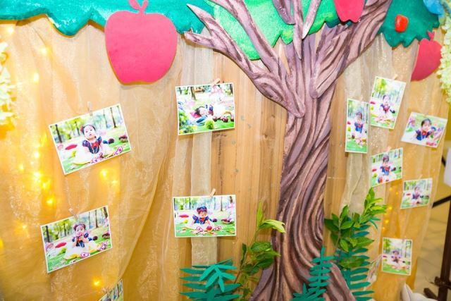 Olivia's Snow White and the Enchanted Forest Theme Party – Photowall