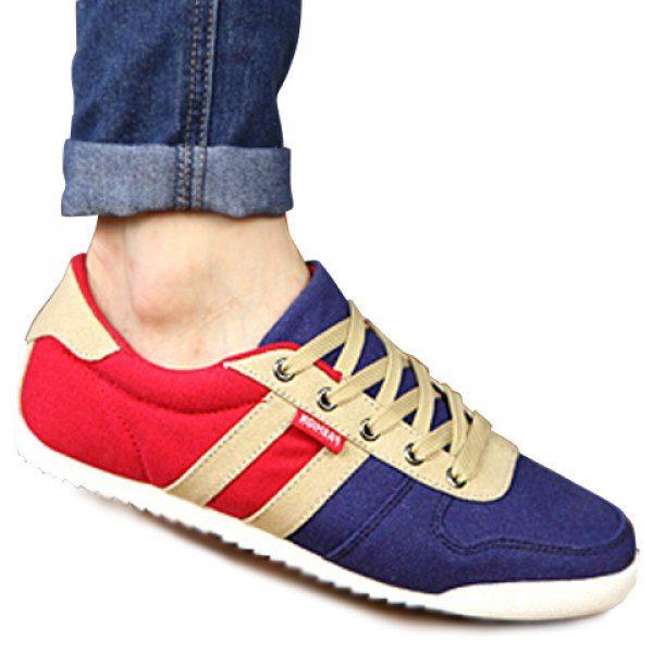 Love canvas shoes