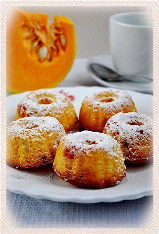 Тыквенные кексы с вишней и кокосом : Простые рецепты для вкусной жизни