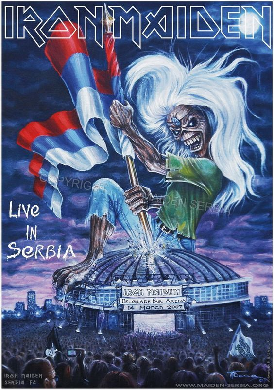 Iron Maiden - Live in Serbia