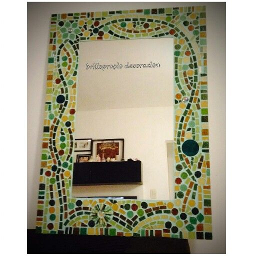 293 mejores im genes sobre mosaicos en pinterest arte de for Mosaicos para espejos