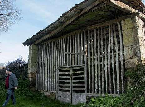 La vieja bodega de Belarmino era una de las mas importantes de toda la parroquia de Vilamelle, en Pantón