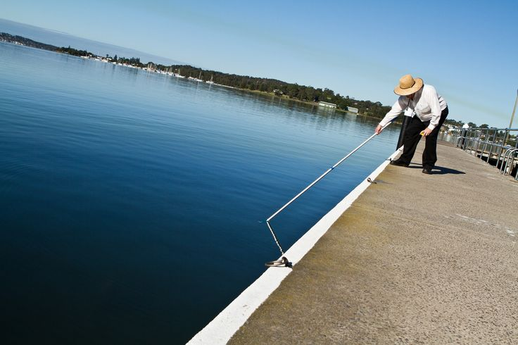Environmental Health Officers collect water samples from 14 different sites across Lake Macquarie to be tested as part of the Beachwatch program http://www.lakemac.com.au/pagewater.aspx?pid=797&vid=27