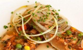 Diese milde basische Gemüse-Sülze eignet sich ideal als basischen Brotaufstrich während des Basenfastens. Die Sülze ist schnell und einfach - ohne grossen Aufwand - zubereitet.