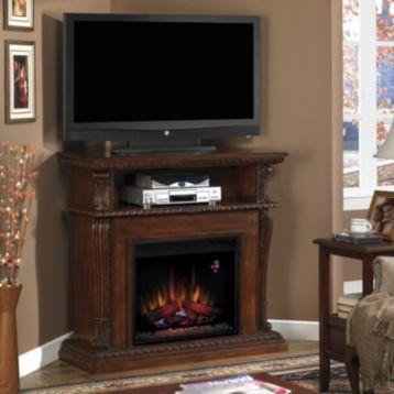 Corinth Cherry Fireplace Entertainment Center Fireplaces Products And Entertainment Center