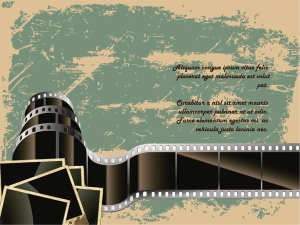 Grungy Retro Film Background - http://www.welovesolo.com/grungy-retro-film-background/