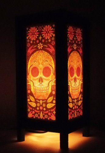 Thai Vintage Handmade Asian Oriental Fantasy Skull Bedside Table Light or Floor Wood Paper Lamp Shades Home Bedroom Garden Decor Modern Design from Thailand Red berry Thailand Lanna Lamp,http://www.amazon.com/dp/B00FH3R63O/ref=cm_sw_r_pi_dp_nm.Ksb0A58ZKFED3