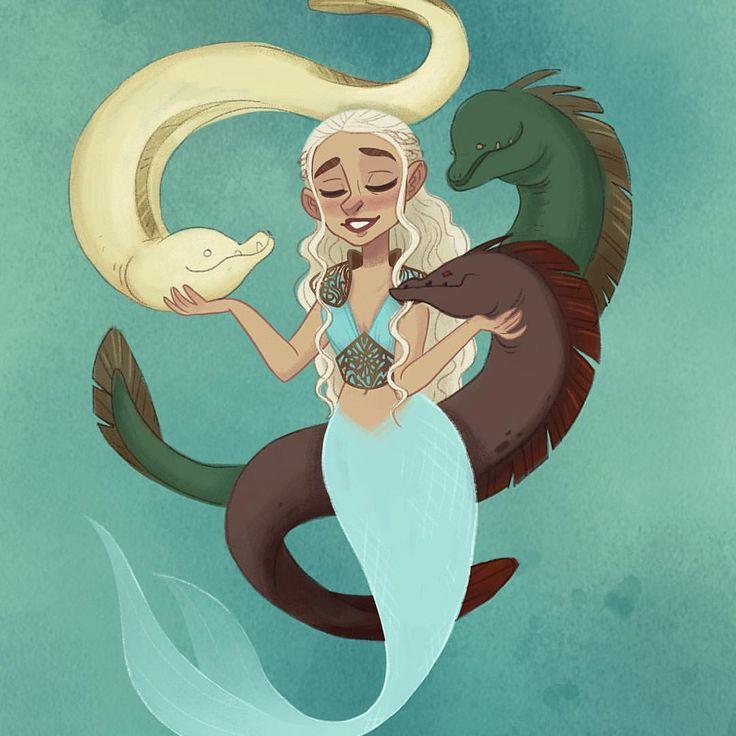 mother of morays #mermay mermaid