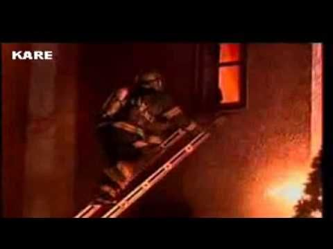 Minneapolis Firefighter Ladder Slide Close Call Window Bailout