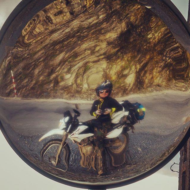 Reposting @pegasusworldadv: Big improvement!!! Taken with a #Sony #rx100v and an utterly unused traffic mirror on an #unknown bend in the #mountains of #north #vietnam 🇻🇳🇻🇳🇻🇳⛰⛰⛰ #adventuremotorcycle #lifebehindbars #whyweride #overlanding #motorcycleadventure #cb500x #rideallday #nomadlife #adventurebike #motorcycletrip #wanderlust #solotravel #roundtheworld #travelasia #overland #exploretheworld #dualsport #moto #motorcycle #enduro #adv #advlife #adventuretouring