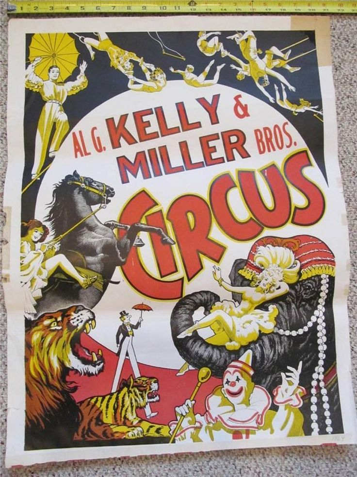 Victorian Graphic Design Barnum And Bailey Artist