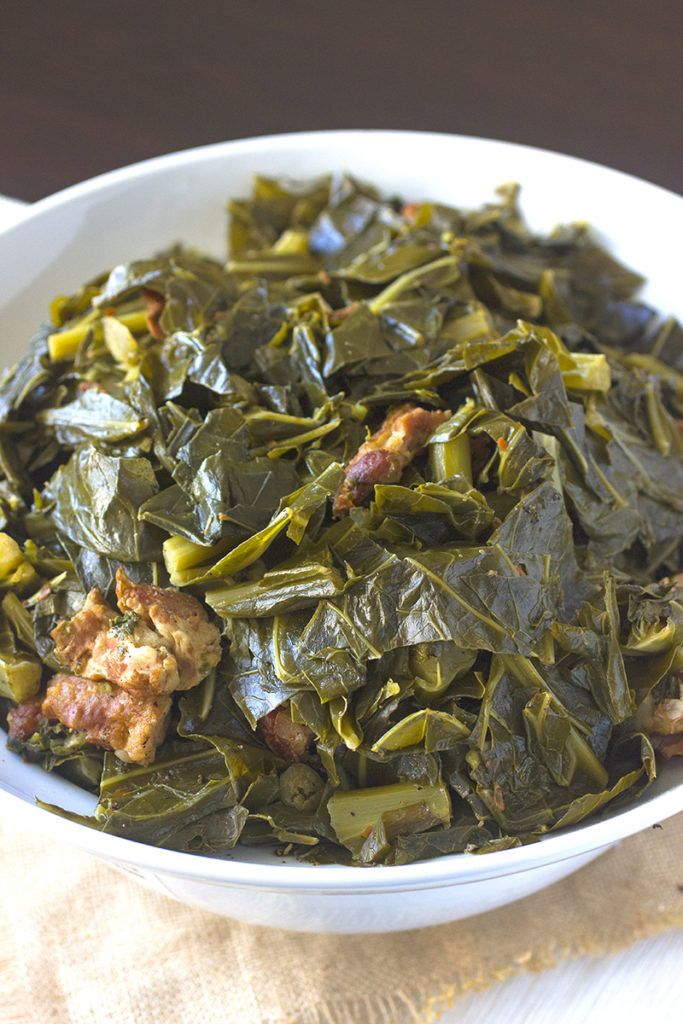 Southern Collard Greens | Recipe | Sides | Pinterest | Southern collard greens, Collard greens ...
