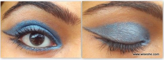 Loreal Infallible Eye Shadow 760 Timeless Blues Spark