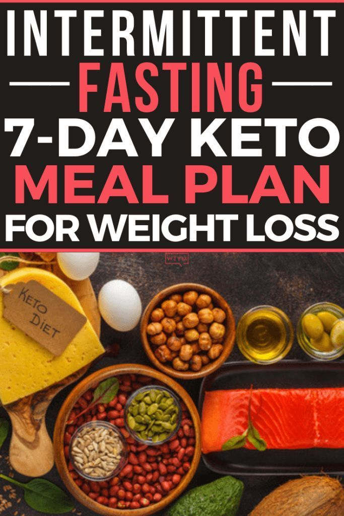 Want To Try Intermittent Fasting + Keto Diet? Here's the 7 Day Meal Plan You Need for Weight Loss