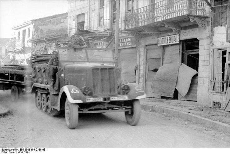 Deutsche Wehrmacht in Griechenland 1941