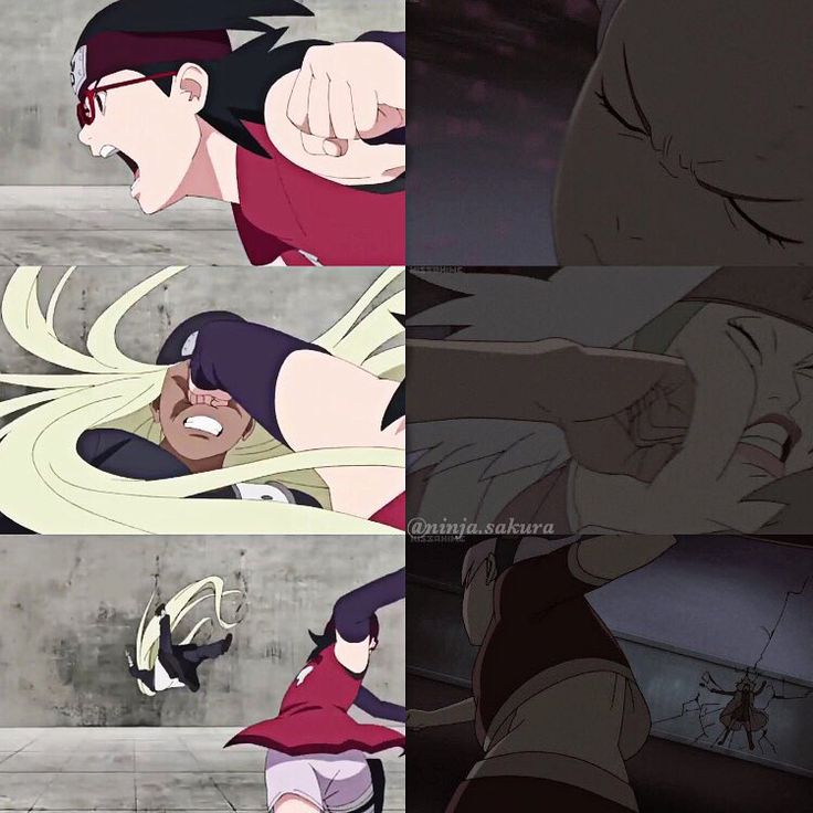 """Sakura and Sarada parallel ⠀ - Boruto the Movie & Naruto the Movie 3 - #sakura #sarada #naruto #borutothemovie"""