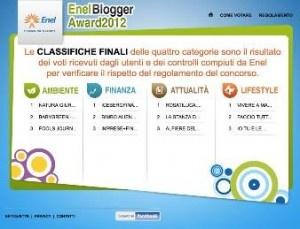 Enel Blogger Award 2013
