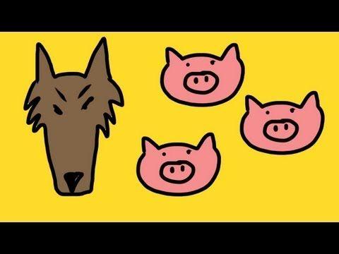 Three little pigs song for children (3 little pigs) - YouTube