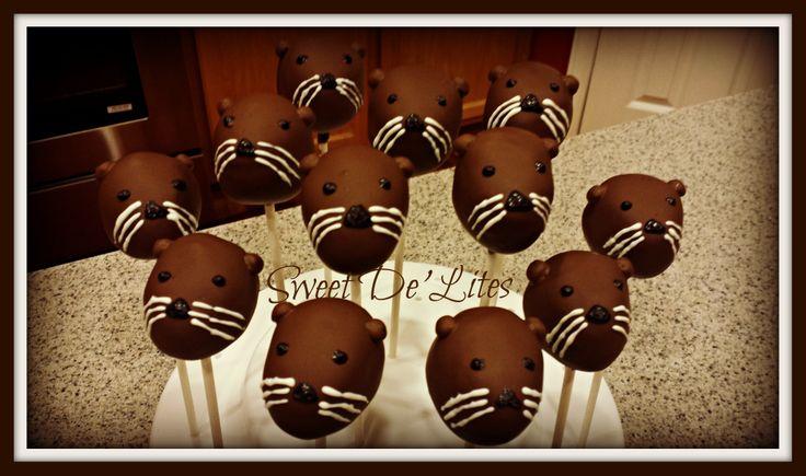 Otter Cake Pops