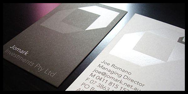 muestras de tarjetas de presenta