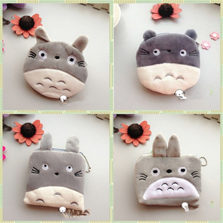 Retail plush cartoon totoro purse small wallet card holder coin case/ key bag ladies Pouch women kids Handbag free shipping #>=#>=#>=#>=#> Click on the pin to check out discount price, color, size, shipping, etc. Save and like it!