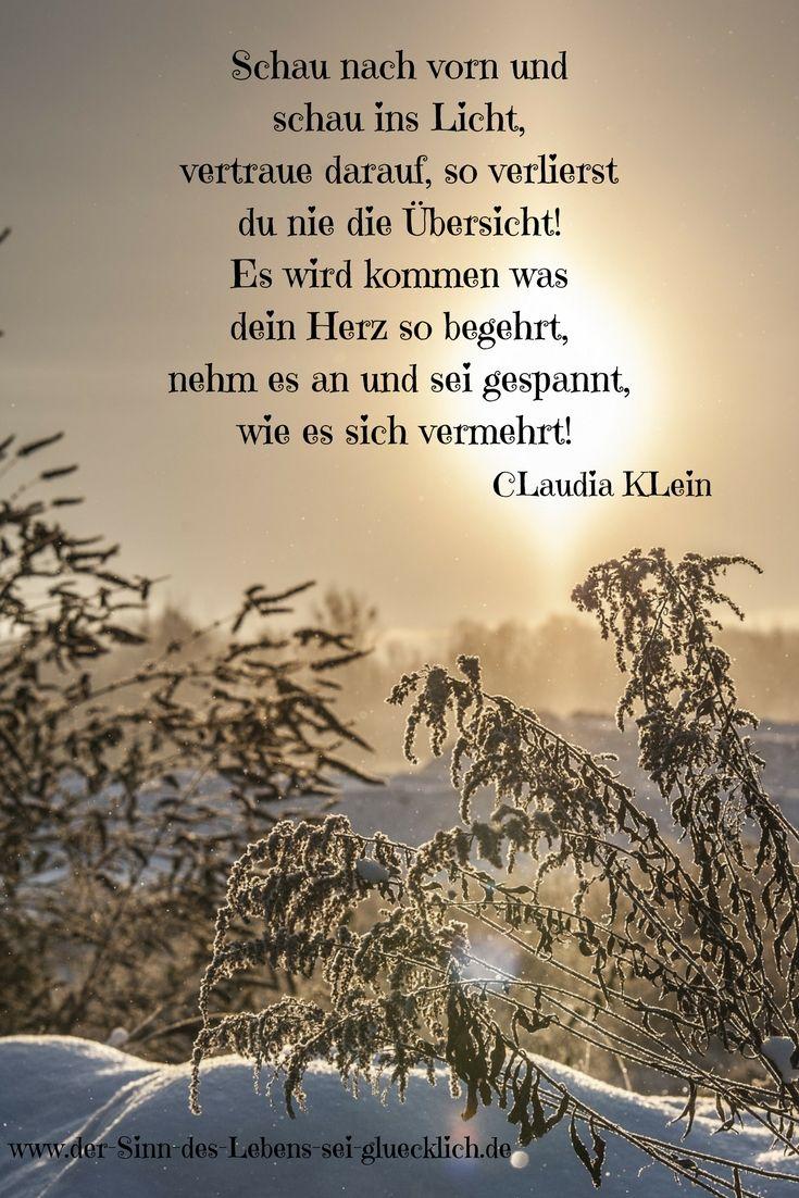 inspirierende Zitate: schöne #Zitate #Glück #Gedichte