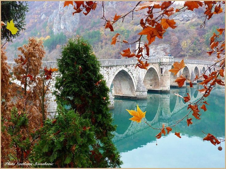 Visegrad, #Bridge on the Drina by Svetlana Novakovic,, Bosnia and Herzegovina