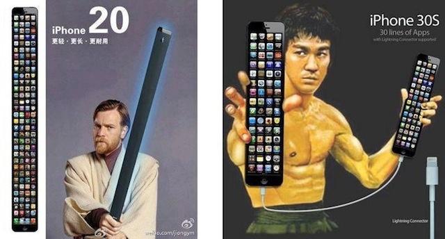 iPhone20 y iPhone30...