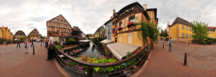 Visita virtual 360° de Colmar - Petite Venise - Alsace, France