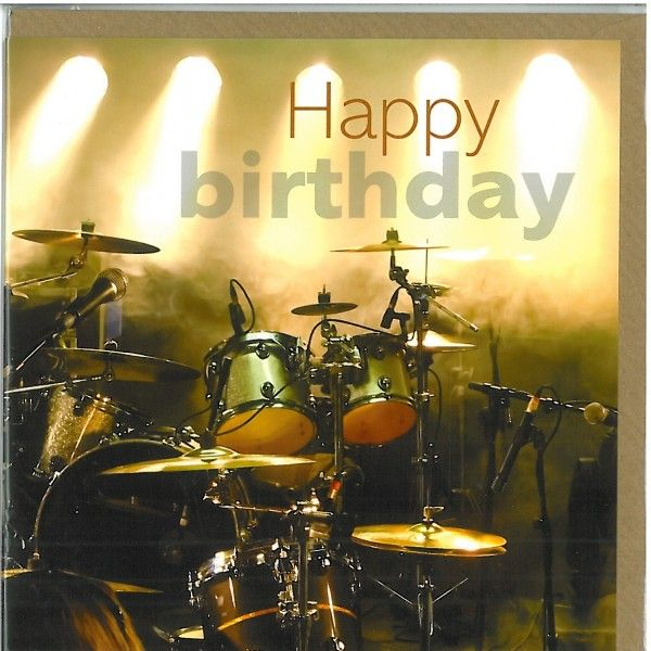 Happy Birthday Drums, Happy Birthday