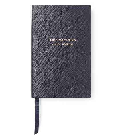 Panama Cross-Grain Leather Notebook | MR PORTER