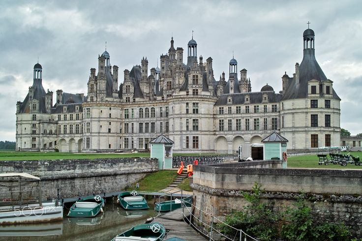 Castle of Chambord, the largest in the Loire Valley, France