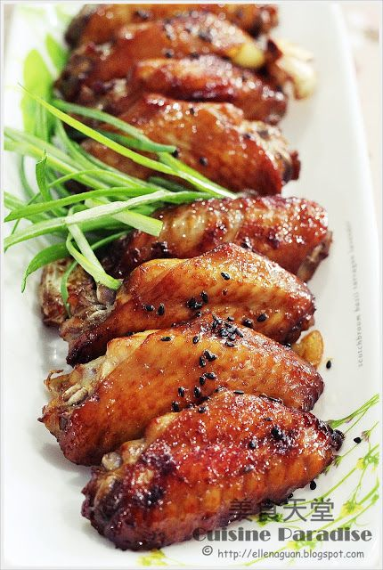 Cuisine Paradise | Singapore Food Blog | Recipes, Reviews And Travel: Grilled Sasame Chicken Mid-Joints