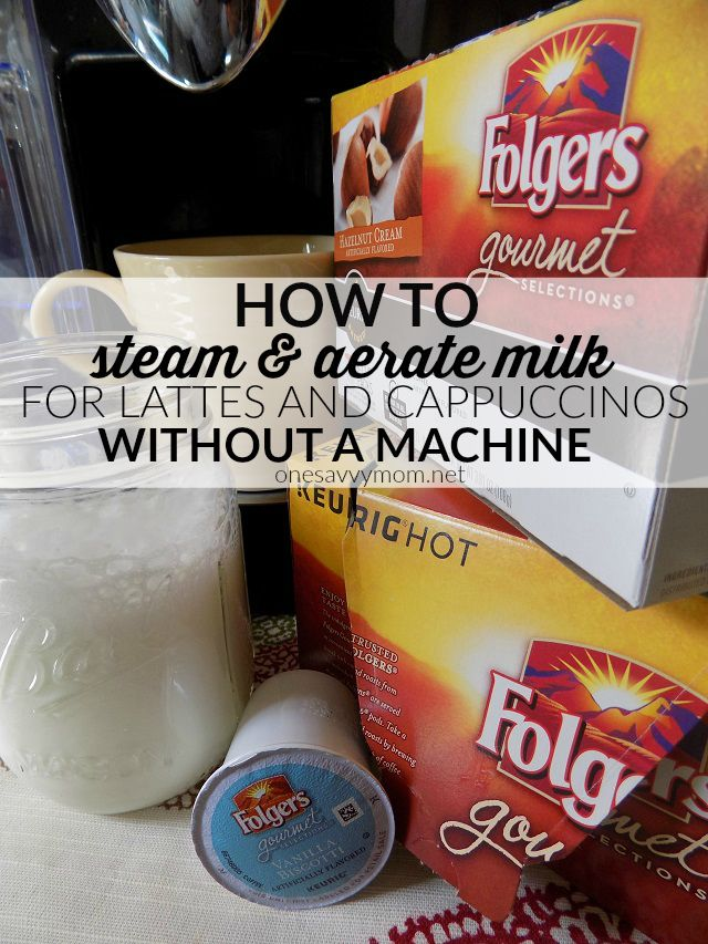 steam milk without machine