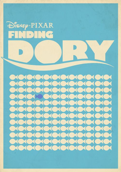 Finding Dory by Roars Adams Fuck Yeah Movie Posters!