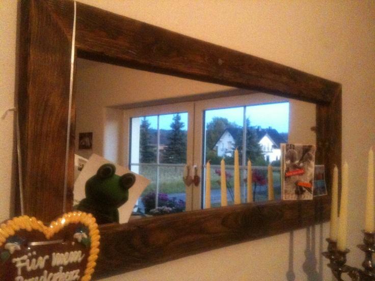 De beste 25 (eller flere) ideene om Spiegel mit holzrahmen på - spiegel im schlafzimmer