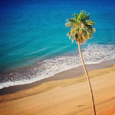 Playa del Ingles beach in #GranCanaria
