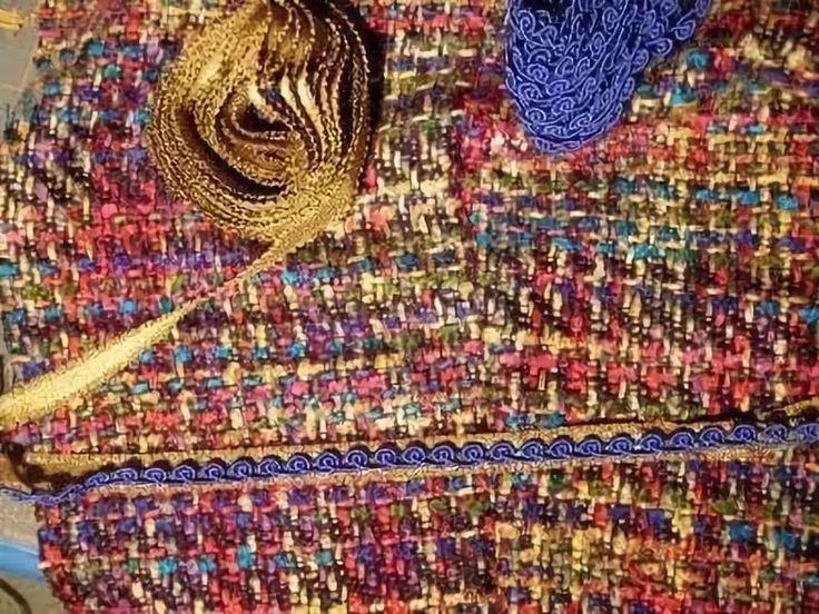 Sewing- mini tutorial - CHANEL JACKET TRIMS Knitting trim from ribbon: 3 тыс изображений найдено в Яндекс.Картинках