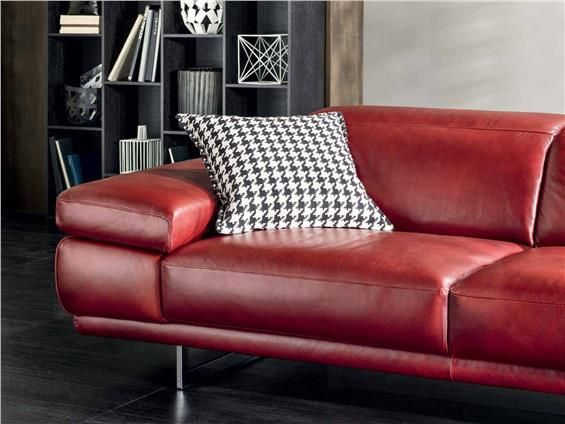 Natuzzi Leather Couch Preludio 2782 Couch Sleepers
