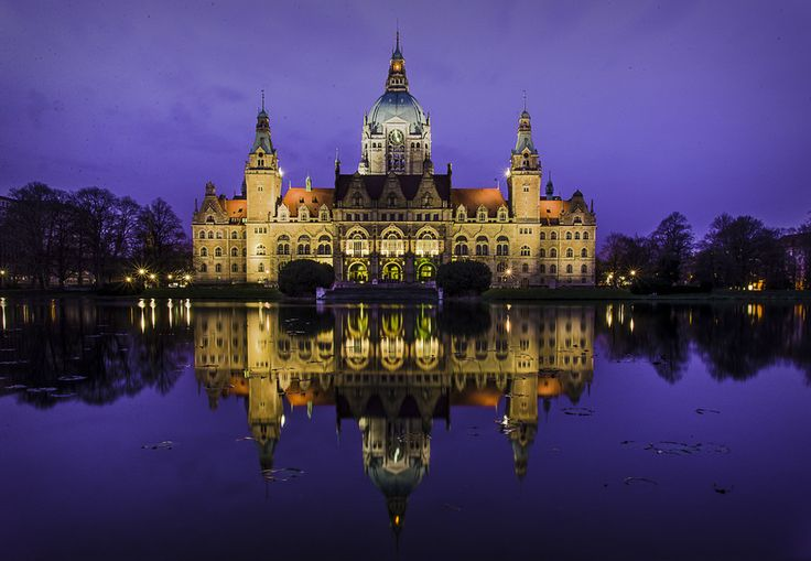 Hannover Rathaus by Roberto Pazzi on 500px