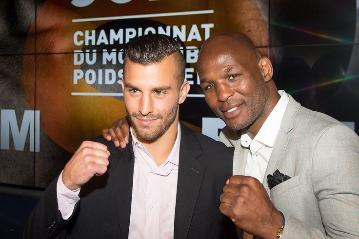Conference de presse du Championnat du monde IBF des poids moyens entre David Lemieux et HassanN'Dam