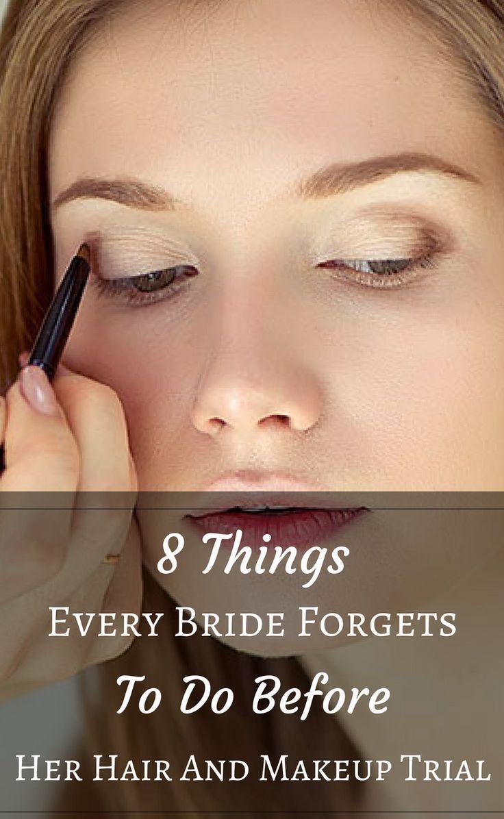 wedding hair trial tips | weddings | wedding makeup, makeup