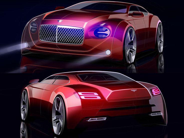 Bentley Concept sketch