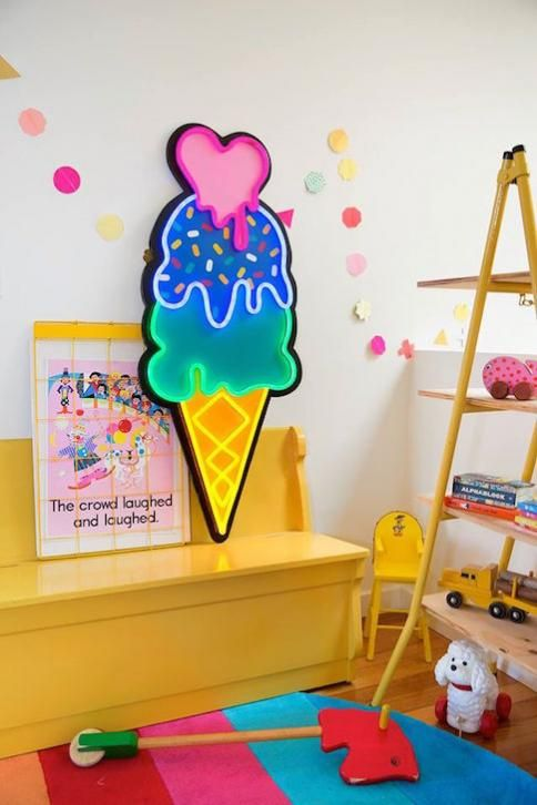 How to make a statement with bright lights - Electric Confetti » Babyberry ~ the next chapter