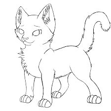 coloring pages of warrior cats google search - Warrior Cat Coloring Pages