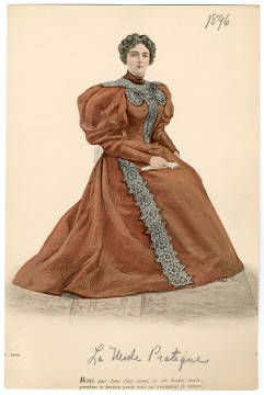 1896, Teller 009 :: Costume Institute Fashion Plates