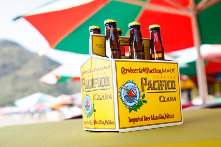 Pacifico Beer - a really good Mexican beer. Photo from the Pacifico Beer Facebook page.