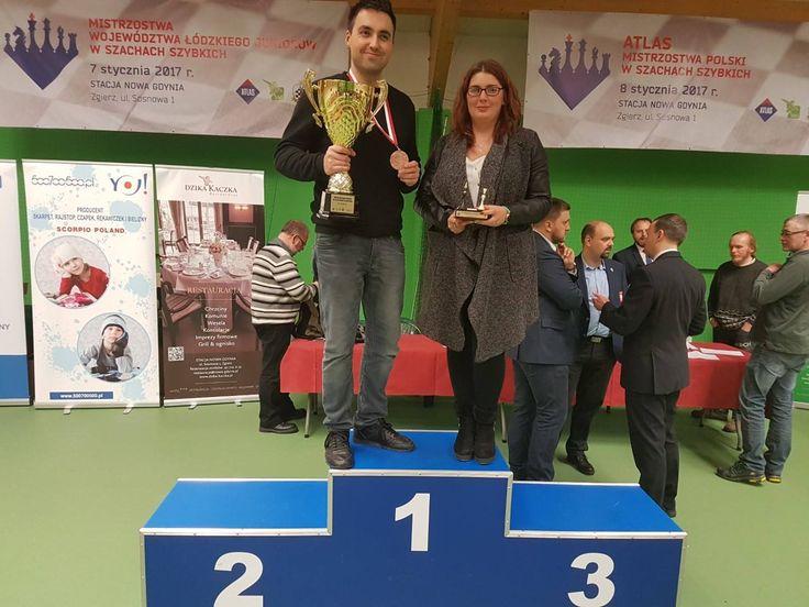 Złoto i brąz studentów UEP na Mistrzostwach Polski w Szachach Szybkich