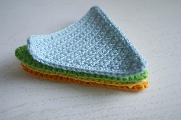 Vlaggenlijn haken, met foto uitleg #crochet #tutorial #flags